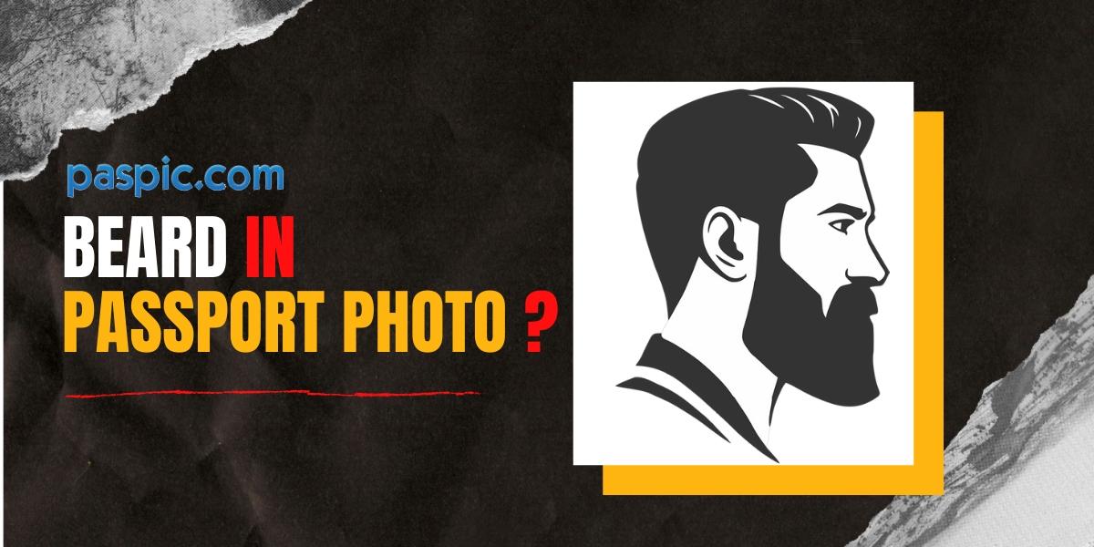Beard Passport Photo